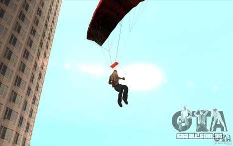 Pára-quedas para GTA San Andreas sexta tela