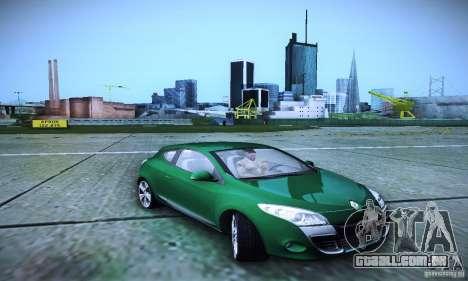 Renault Megane Coupe para GTA San Andreas vista direita