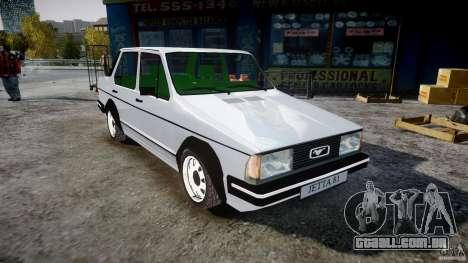 Volkswagen Jetta 1981 para GTA 4 vista direita