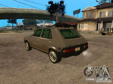 Fiat Ritmo para GTA San Andreas esquerda vista