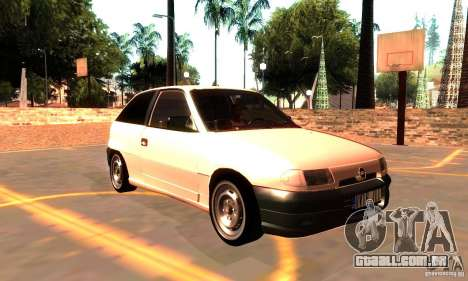 Opel Astra 1993 para GTA San Andreas vista direita