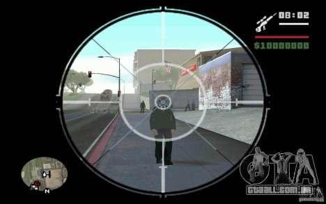 Sniper mod v 1. para GTA San Andreas