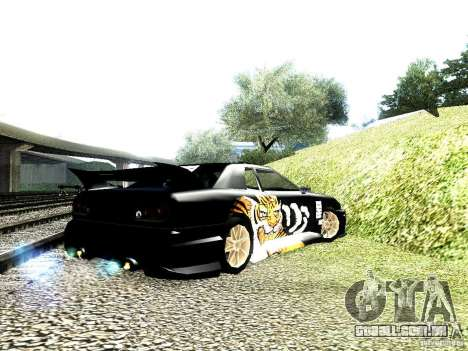 Vinil grande Lou de Most Wanted para GTA San Andreas esquerda vista
