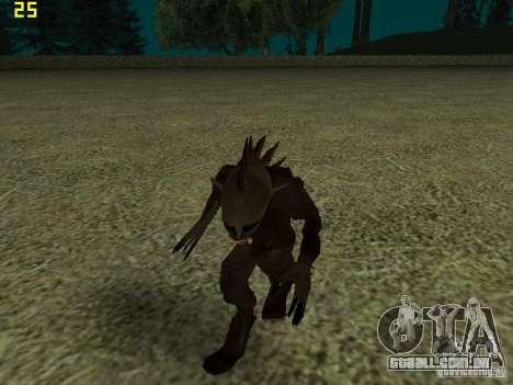Chupacabra para GTA San Andreas sexta tela