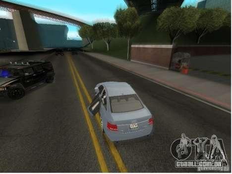 Audi A6 para GTA San Andreas vista superior