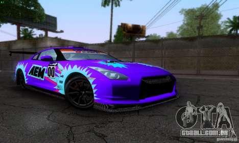 Nissan GTR R35 Tuneable para GTA San Andreas
