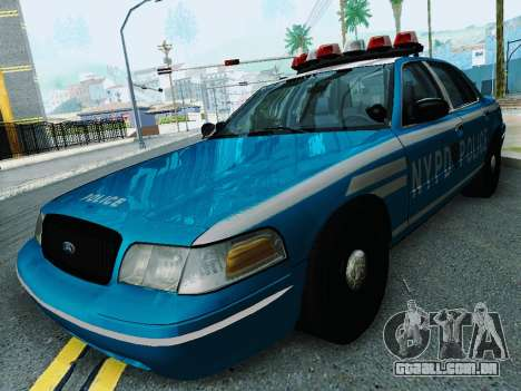 Ford Crown Victoria 2003 NYPD Blue para GTA San Andreas