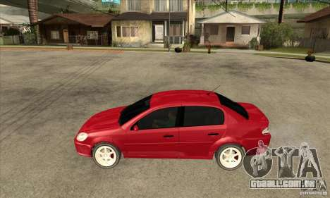 GTA IV Premier para GTA San Andreas esquerda vista