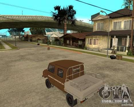 LuAZ-13021-04 para GTA San Andreas esquerda vista
