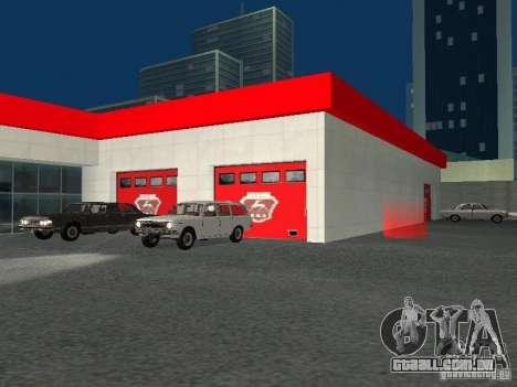 Gaz para GTA San Andreas sexta tela