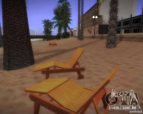 Novos padrões de lazer para GTA San Andreas sexta tela
