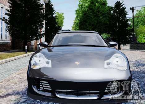 Porsche 911 Turbo S para GTA 4 vista de volta