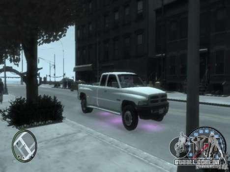 Dodge Ram 3500 para GTA 4 esquerda vista