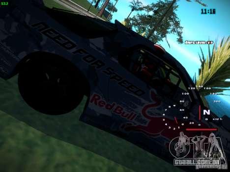 Mazda RX-7 Mad Mike para GTA San Andreas traseira esquerda vista