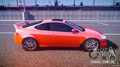 Acura RSX TypeS v1.0 stock para GTA 4 vista interior