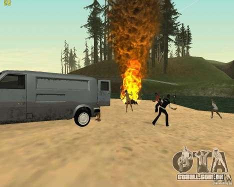 Festa da natureza para GTA San Andreas sétima tela