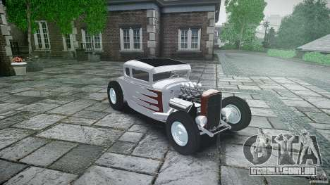 Ford Hot Rod 1931 para GTA 4 vista interior