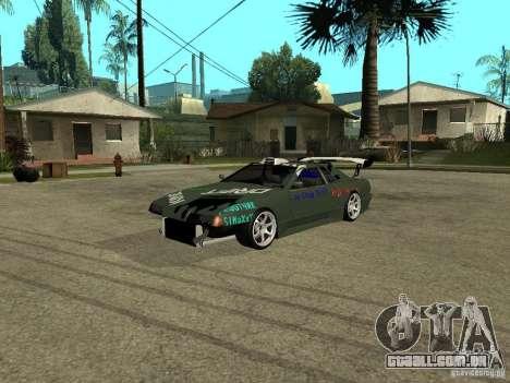 Vinil sobre a elegia para GTA San Andreas