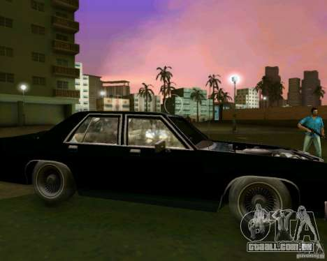 Ford Crown Victora LTD 1985 para GTA Vice City interior