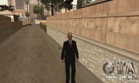 Vladimir Vladimirovich Putin para GTA San Andreas terceira tela