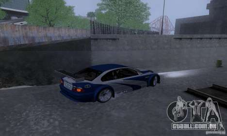 ENB Reflection Bump 2 Low Settings para GTA San Andreas sétima tela