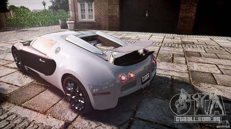 Bugatti Veyron Grand Sport [EPM] 2009 para GTA 4 motor