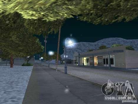 Neve para GTA San Andreas por diante tela