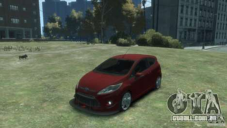 Ford Fiesta para GTA 4