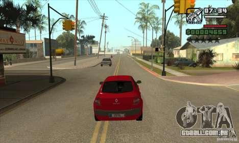 Conduziu a uma estrela vermelha-get para GTA San Andreas segunda tela