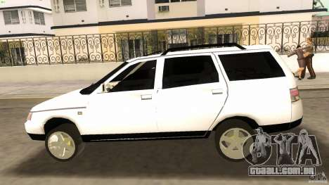 VAZ 2111 para GTA Vice City vista lateral