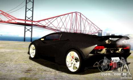Lamborghini Sesto Elemento para vista lateral GTA San Andreas