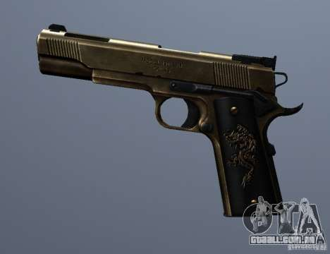 Golden 1911 para GTA San Andreas terceira tela