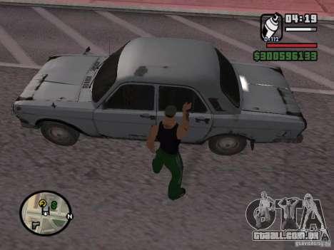 Redesenho do atuador para GTA San Andreas segunda tela