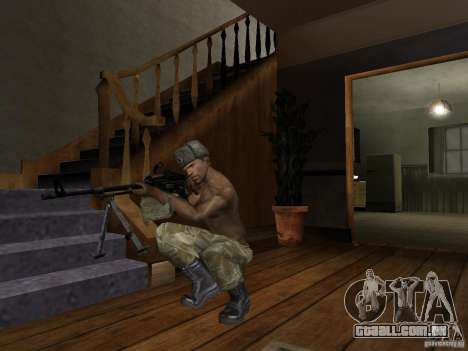 Chapéus de Call of Duty 4: Modern Warfare para GTA San Andreas oitavo tela