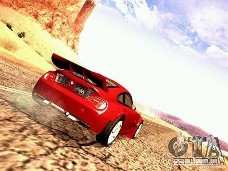 BMW Z4 Rally Cross para GTA San Andreas vista direita