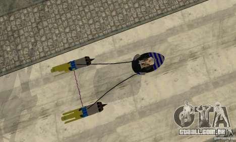 Star Wars Racer para GTA San Andreas vista traseira