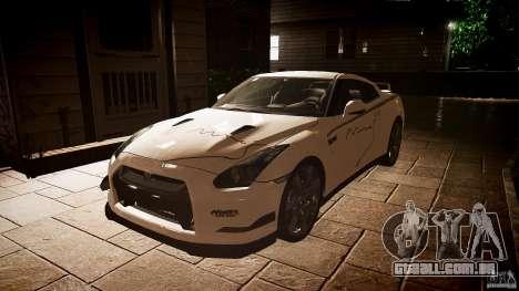 Nissan GT-R (R35) Mines 1.1 para GTA 4