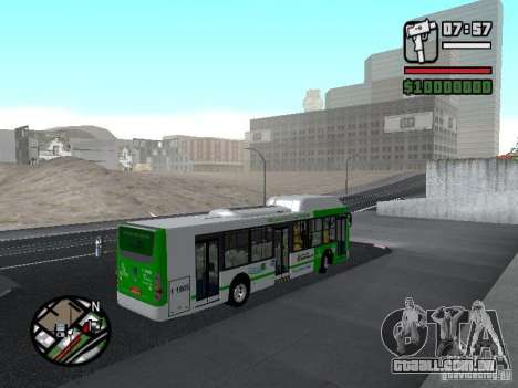 H Hibrido TUTTO 15M UPB C2 EX DR para GTA San Andreas vista direita