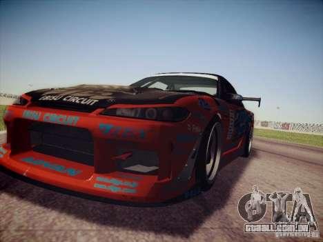 Nissan Silvia S15 Drift para GTA San Andreas vista direita