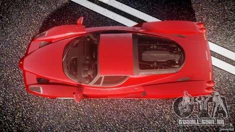 Ferrari Enzo para GTA 4 vista direita