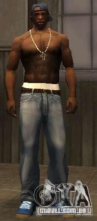Novo jeans para CJ para GTA San Andreas