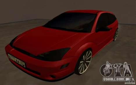 Ford Focus Light Tuning para GTA San Andreas