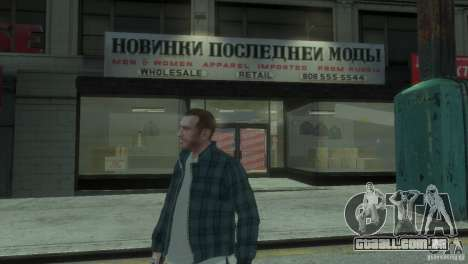 New Russian Shop para GTA 4