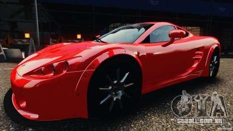 Ascari KZ1 v1.0 para GTA 4 traseira esquerda vista