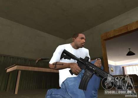 HK 416 para GTA San Andreas segunda tela