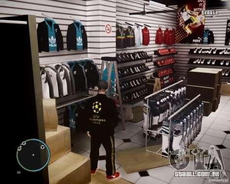 Foot Locker Shop v0.1 para GTA 4 nono tela