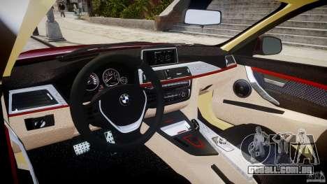 BMW 335i 2013 v1.0 para GTA 4 vista direita