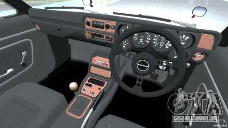 Nissan Skyline 2000 GT-R para GTA 4 vista direita