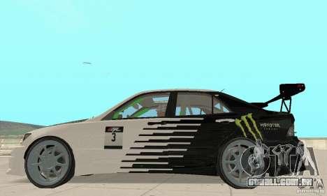 Lexus IS300 Drift Style para GTA San Andreas vista direita