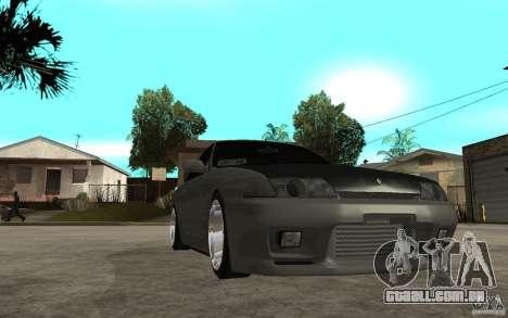 Nissan Skyline R32 - EMzone Edition para GTA San Andreas vista traseira